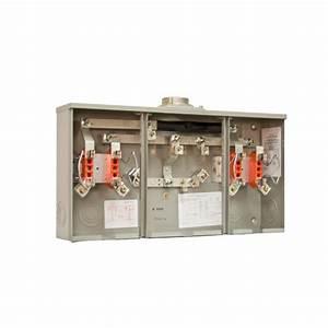 Milbank 320 Amp Ringless Overhead  Underground Meter Socket-r5740-x-k3l-k2l-capl