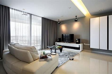 Moderne Wohnzimmer Vorhänge by Gardinen Ideen F 252 R Wohnzimmer