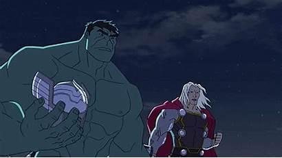 Hulk Thor Avengers Assemble Boros Marvel Saitama