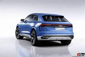 Audi Q8 Interieur : a4e gallery audi concept cars audi q8 concept 2017 ~ Medecine-chirurgie-esthetiques.com Avis de Voitures