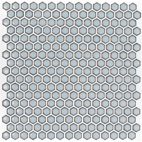 kitchen floor tile splashback tile bliss edged hexagon polished gray ceramic 1677
