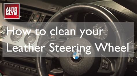 How To Clean A Leather Steering Wheel