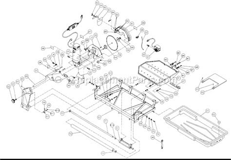 Mk 770 Tile Saw Manual by Mk Mk 1070 Parts List And Diagram