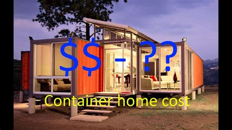 Shipping Container Home Cost To Build