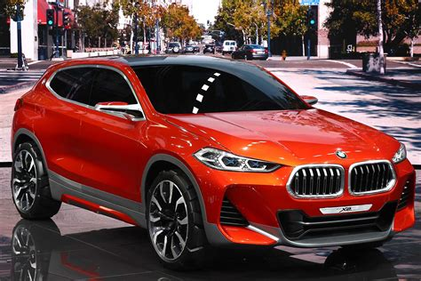 Sporty Suvs by New Bmw X2 Suv Concept Hints At Next Sporty Crossover
