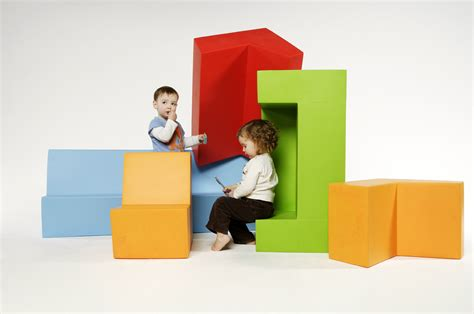 Qm Foam Kids Sofa Minus+ Club 04 By Quinze & Milan