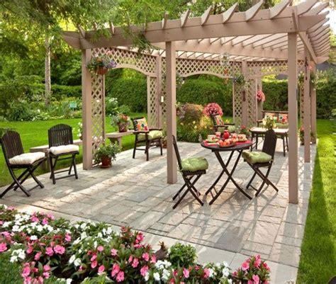 garden pergola  comfortable seating  family pergola gazebo design ideas small