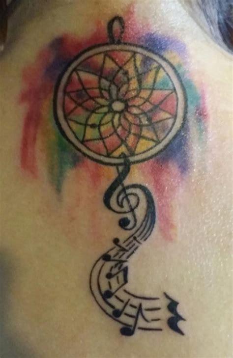 nice dreamcatcher tattoos designs