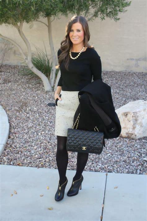 elegant office skirt outfits  inspire   year highpe