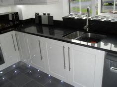 black gloss kitchen tiles black granite worktop grey and black tiles white gloss 4679