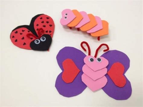 Cut Out Heart Shapes From Foam Sheets Or Construction