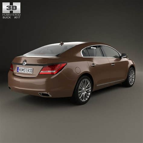 Buick Lacrosse Models by Buick Lacrosse 2014 3d Model For In