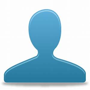 User Blue Icon - Pretty Office VIII Icons - SoftIcons.com