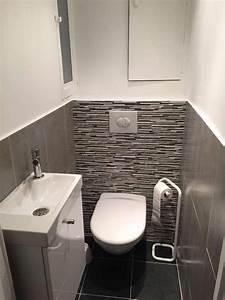 Modele De Wc : modele carrelage wc affordable deco carrelage wc dacco ~ Premium-room.com Idées de Décoration