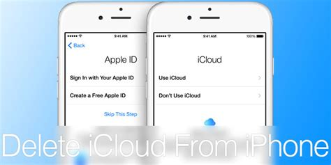 to delete icloud account on iphone how to change or delete icloud account on iphone or