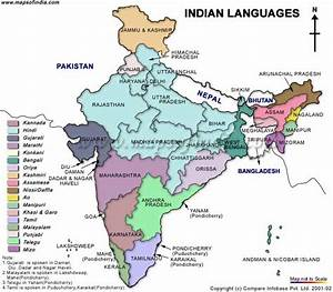 Welcome to India: Languages in India with MAP