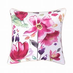 hot sale modern sofa cushions printed colorful floral With decorative sofa pillows on sale