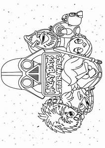 Free coloring pages of star wars lightsabers