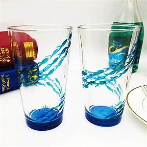 Diy custom wine glasses and unique glass painting designs