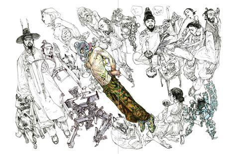 Kim Jung Gi Superani Sketchbook 2018