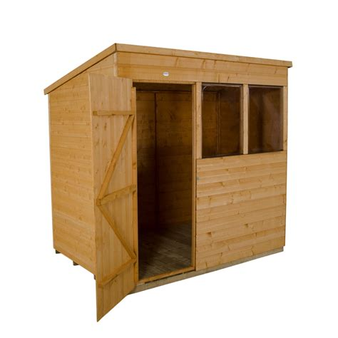 Shiplap Or Tongue And Groove Shed - 7 x 5 pent shiplap tongue and groove shed shedsfirst