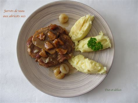 cuisiner un jarret de veau jarrets de veau aux abricots secs diet délices