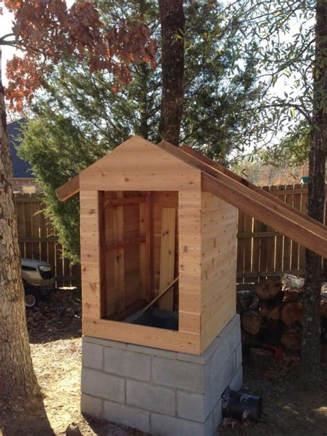 How To Build A Smokehouse Littlethings