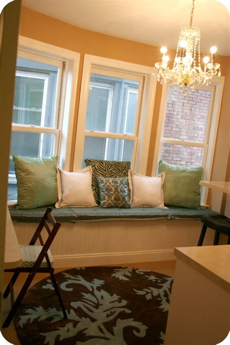 How To Make Nosew Window Seat Cushions {craft Room Update