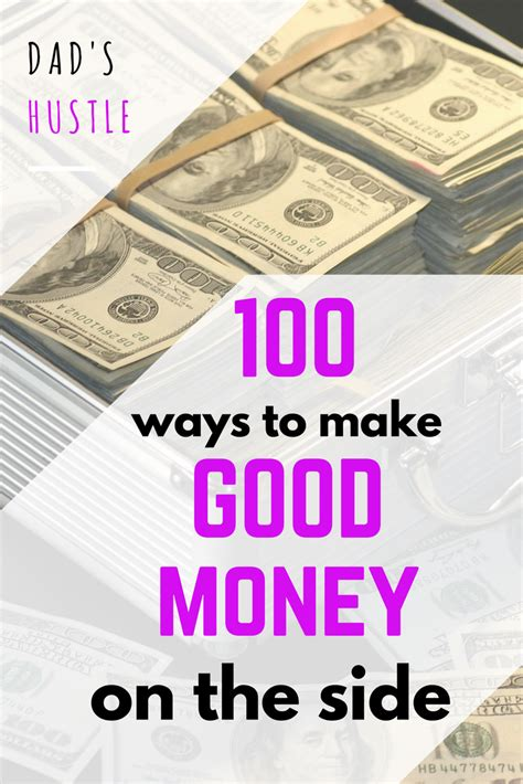 Top 100 Ways To Make Money (on The Side, Parttime, Fast, Easily, Online
