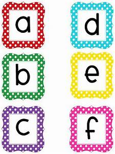 technology rocks seriously more polka dot letters With print letters for bulletin board