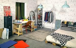 Chambre atelier d'artiste pour Défi d intérieur(s)