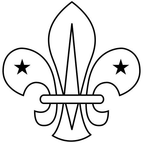 File:WikiProject Scouting fleur-de-lis outline.svg ...