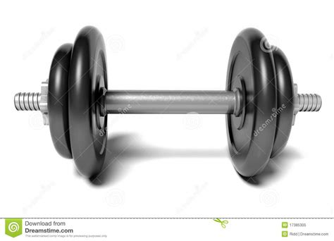 dumbbell royalty  stock photo image