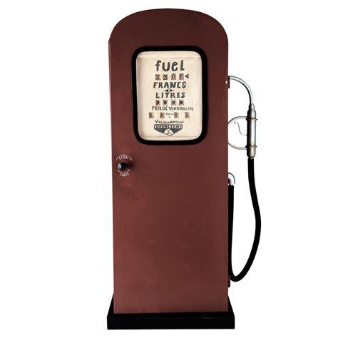rangement chambre bebe meuble pompe à essence en métal h 126 cm californie