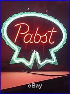 Vintage 1981 Original Pabst Neon Sign Awesome Look