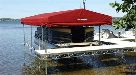 Boat Dock Canopy Covers by Boat Lift Canopies Stand Alone Canopies At Ease Dock