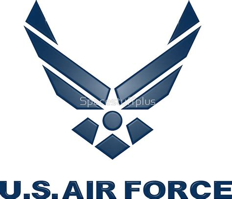 quot u s air force symbol quot stickers by spacestuffplus redbubble