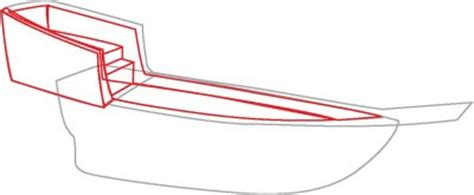 Boat Hull Outline by 3 Continue Work On The Hull How To Draw Pirate Ships In