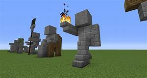 Easy Small Statues – Minecraft Building Inc