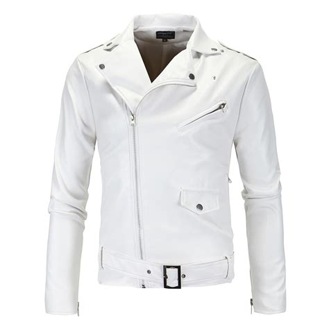 cheap motorcycle leathers online get cheap white biker jacket aliexpress com