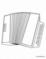 Coloring Accordion Musical Instruments Accordian Hellokids Piano Printable Lessons Instrument Worksheets Colorbook sketch template