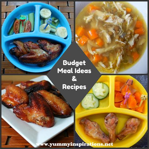 budget cuisine budget meals planning guide