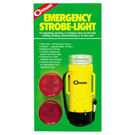 strobe light walmart coghlans emergency strobe light walmart