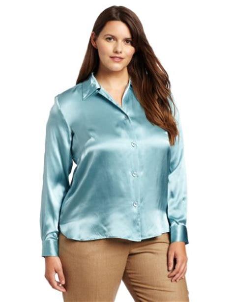 plus size silk blouses pendleton 39 s plus size silk charmeuse blouse