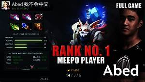 Abed Dota 2 Play Meepo Item Build How To Meepo Guide