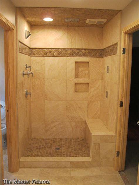 Tiled Walk In Showers by Walk In Tiled Shower Baths Pinterest