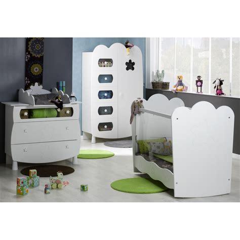 Chambre Bébé Complète Plexi Blanc* (leonblck01p