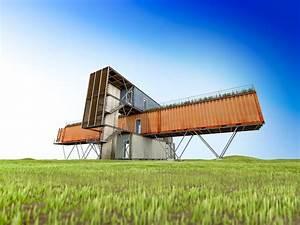 Connaitre Orientation Maison : maison container guide des prix r glementation et ~ Premium-room.com Idées de Décoration