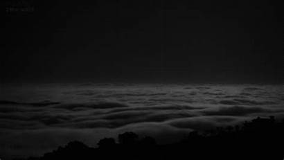 Fog Rolling Gifs Cool Void Nature Bw