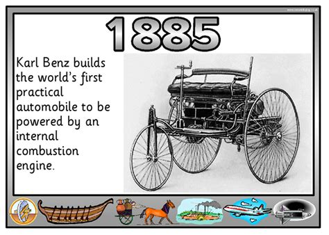 #karl #benz Builds The Worlds First Practical Automobile